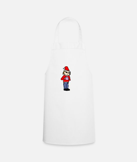 Christmas Aprons - present for you - Apron white