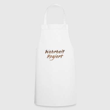 Truth governs - Cooking Apron