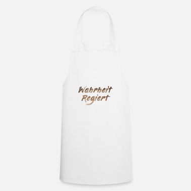 Government Truth governs - Cooking Apron