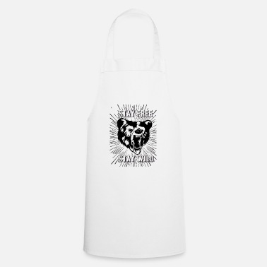 Stay Stay Free Stay Wild - Apron