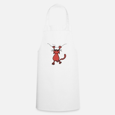 Wild cat red - Apron