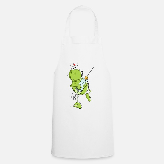 Nurse Frog Apron Spreadshirt
