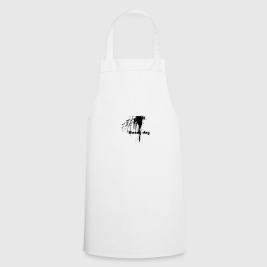 bloody day - Cooking Apron