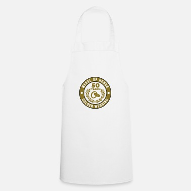 Medal Of Honor MEDAL OF HONOR 50th GOLDEN WEDDING 3C - Apron