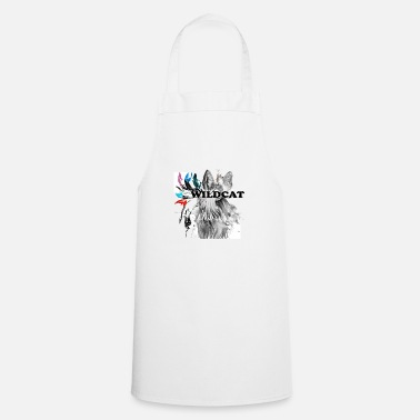 Domestic Cat WILDCAT domestic cat - Cooking Apron