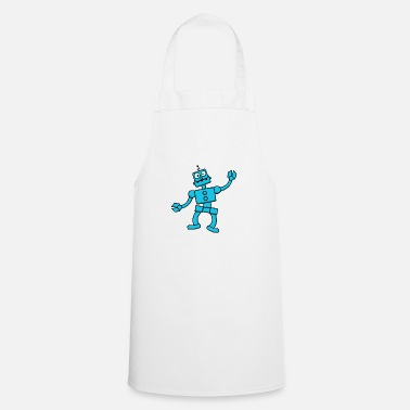Science Fiction Funny dancing robot - Apron