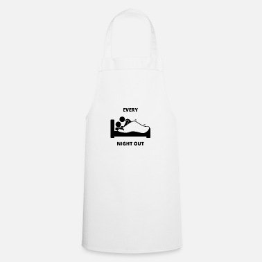 Guys Night Out Funny Night Out - Apron