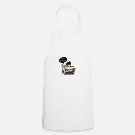 Gaming Aprons - I'm Hidden - Apron white