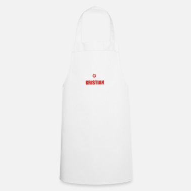 Kristian Gift it sa thing birthday understand KRISTIAN - Apron