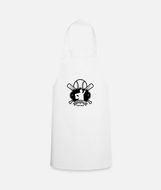 Usa Aprons - Baseball sport USA - Apron white