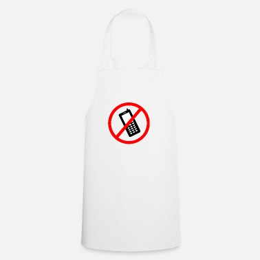Prohibited Cellphone prohibited - Apron