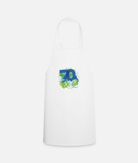 Dancing Aprons - 70s forever - Apron white
