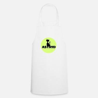 Name Day Astrid name cat full moon name day - Apron