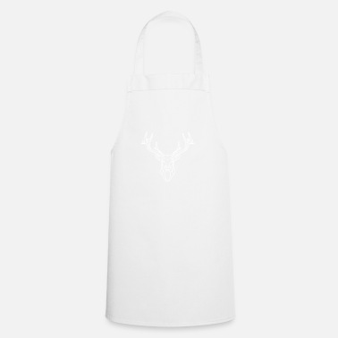 Stag White stag - Cooking Apron