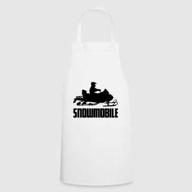 Car Evolution snowmobile snowmobile snow winter - Cooking Apron