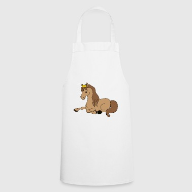 Cute Funny Cool Horse Riding Rider - Cooking Apron