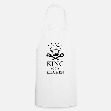 Chef 13 KING of the Kitchen Chef's Hat Cooking Spoon - Cooking Apron