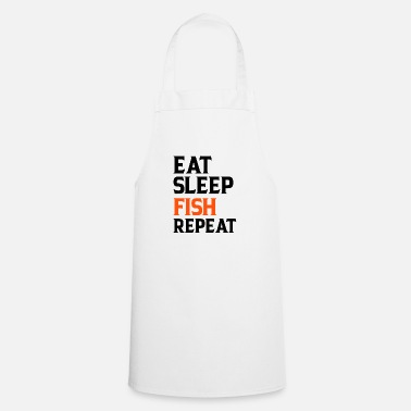 Guys Night Out Eat Sleep Fish Repeat - Apron