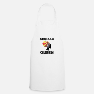 South Africa African Queen - Black history month - Apron