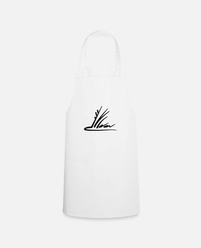 Drawing Aprons - taxi - Apron white