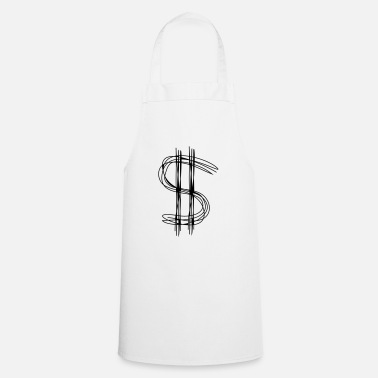 Dollar Dollar sign dollar - Apron