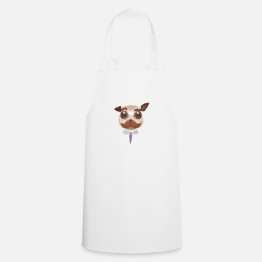 Office Pug art - Apron