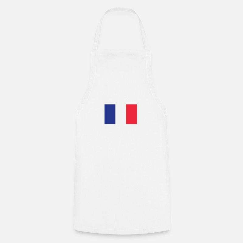 Francia Grembiuli - T-shirt con bandiera della Francia - Bandiera francese  Tricolore orgoglioso - aebd6630ca22