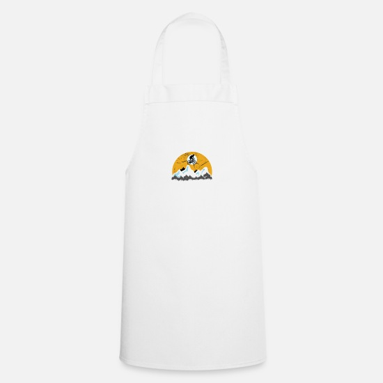 Bicyclette Aprons - Biking - Apron white