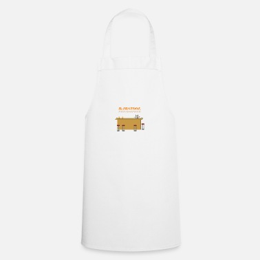 Philosopher barstool philosopher - Cooking Apron