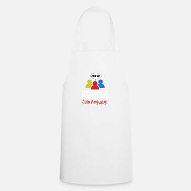 Bowling Funny Pointless TShirt Design Join anyway - Apron