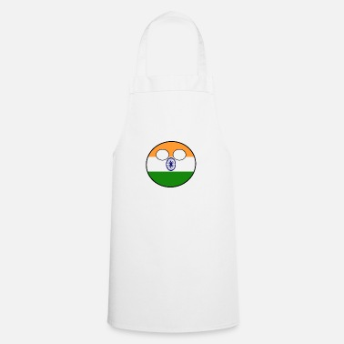 India Countryball Country Homeland India - Apron