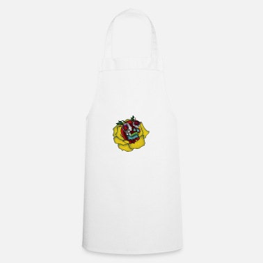 Whimsical Skull meets whimsical gift whimsical - Apron