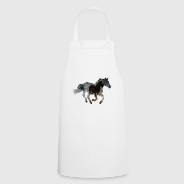 Gallop Horse gallops - Cooking Apron