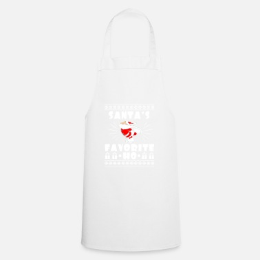 Merry Christmas Santa's Favorite Ho - Cooking Apron