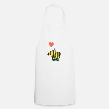 Officialbrands Janosch's Tigerente with heart - Apron