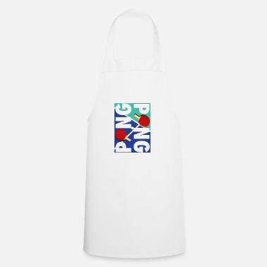 Sport Ping Pong sports racket design - Apron