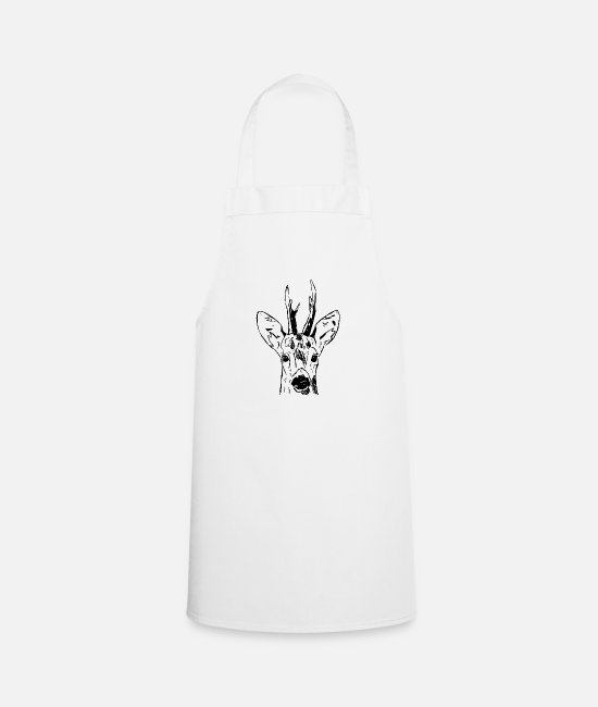 Stag Aprons - Ree - Apron white