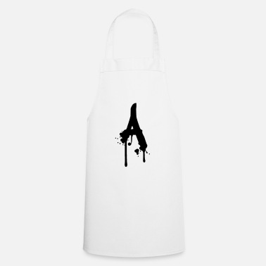 Spray A graffiti drops Farbklex spray - Apron