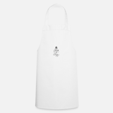Keep Calm And Listen To The Music - Apron