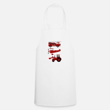 Vehicle vehicles - Cooking Apron