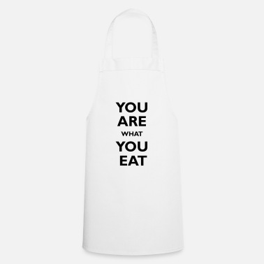 You are what you eat - Delantal