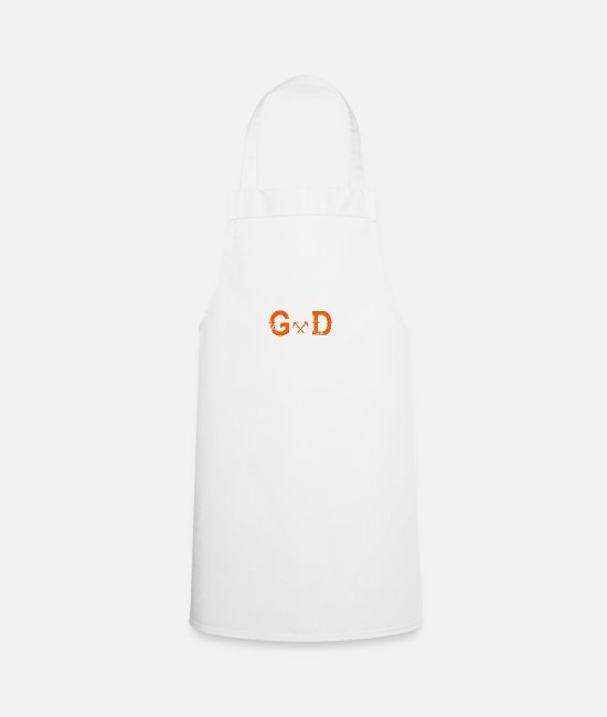 Birthday Aprons - Legend god god roofing - Apron white