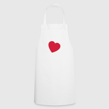 little heart ES - Delantal de cocina