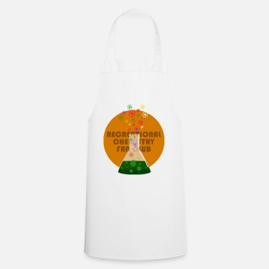 Recreational Recreational Chemistry Fan Club (orange) - Cooking Apron