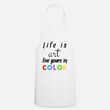 Colour Coloured - Cooking Apron