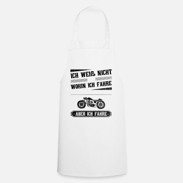 Wheel motorcycle - Cooking Apron