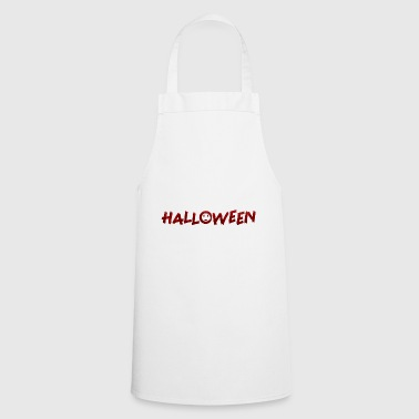 Font Halloween font - Cooking Apron