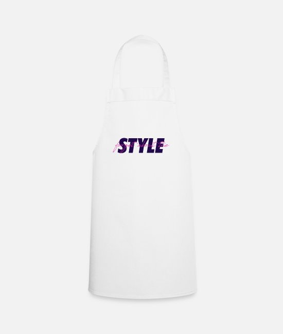 Love Aprons - forget the style - Apron white
