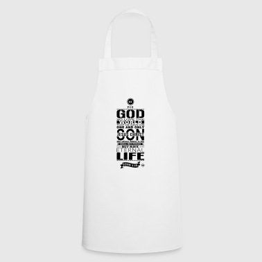 For god - Cooking Apron