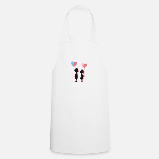 Love Aprons - boy - Apron white